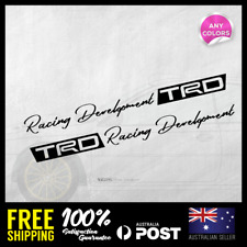 TRD Toyota Racing Development Side Door 285mm length JDM Sticker Decal