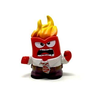 Funko Mystery Minis Disney Pixar Inside Out Anger with Flames Head Vinyl Figure