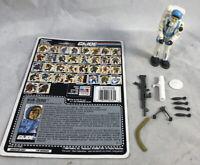 GI Joe 1990 Sub-Zero V1 100% Complete w/ Uncut Card Hasbro ARAH Vintage