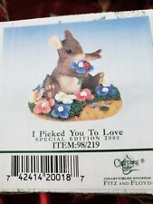 Charming Tails I Picked You To Love Special Edition 2000 98/219 Fitz and Floyd