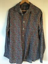 Perry Ellis Long Sleeve Floral Casual Shirts for Men