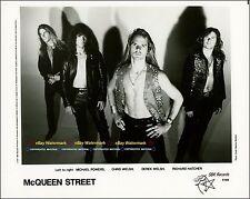McQueen Street, Michael Powers, Chris & Derek Welsh, etc - 8x10 Publicity Photo!