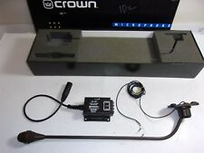Crown LM-201 Super Cardioid Lectern Microphone LM201BLDS