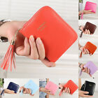 Women Mini Wallet Bifold Purse Leather Coin Bag Case Zip Card Holder CHEAP