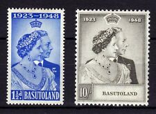 BASUTOLAND 1948   SILVER WEDDING   SG# 36-37   MLH *