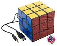 NEW COOL RETRO 80'S RUBIKS CUBE USB GAME IPHONE IPOD LAPTOP GALAXY S SPEAKERS