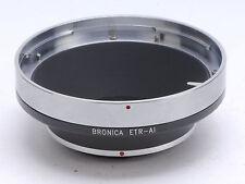 Bronica ETR Lens For Nikon D3x D3s D800 D700 D300 D90 D7000 D3000 Adapter