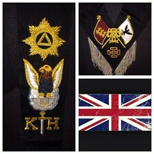Rose Croix  30th Degree Sash £59.00 Hand Crafted Finest Quality