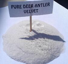 Pure Deer Antler Velvet Powder - 16 oz (1 lb) - Our Strongest Velvet Powder
