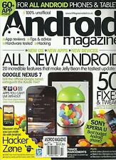ANDROID MAGAZINE,FOR ALL ANDROID PHONES & TABLETS, NO. 14 ( 50 FIXES & TWEAKS )