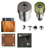 Double Cap Tubular Rivets Setting Dies for Green Machine Clothing Straps Sewing