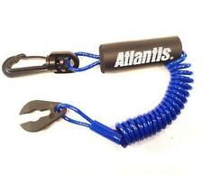 Coupe circuit Flottant jetski Yamaha - Atlantis Floating Lanyard Blue