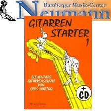 gitarrenstarter 1 mit cd hartog gitarrenschule lehrbuch