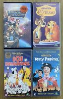 Walt Disney Classics VHS Bundle - Family Films