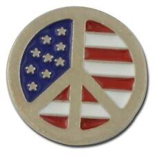 Peace Flag Lapel Pin