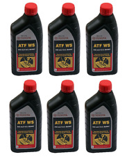 Genuine Automatic Transmission Oil Fluid ATFWS Set Of 6 Quart For Toyota Lexus