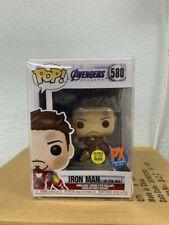 "Funko Pop! Marvel-Avengers: Endgame ""I Am Iron Man"" Bobble Head - PX w/Protector"