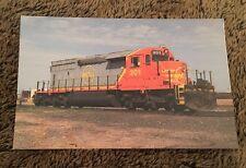 1996 Postcard Unposted Train Quebec North Shore & Labrador Rwy #301