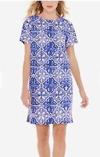 The Limited Tile Print Shift Dress NWT SZ Medium