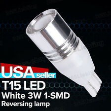 2 X T15 3W 1LED White 1SMD Car Turn Signal Stop Tail Bulb Lamp Light