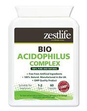 Zestlife Bio-Acidulato con Bacillus Acidophilus COMPLEX 60 capsule per il sistema immunitario e dell'apparato digerente