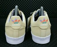 Adidas Superstar Vulc ADV Men Size 8.5 Skateboard Classic Shell Toe Yellow Shoe