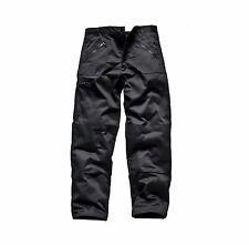 DK Men's Cargo Combat Work Trousers Zipper Black Grey Navy knee pad pockets