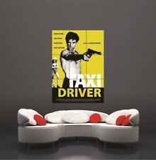 Taxi Driver Movie German Giant Poster Art Print