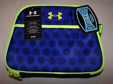 "Under Armour ""DOT"" Insulated Lunch Cooler BLUE/BLACK/NEON GREEN ~ NWT"