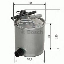 ENGINE FUEL FILTER OE QUALITY REPLACEMENT BOSCH F026402019