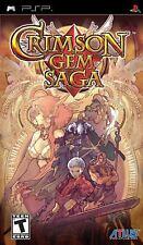 Crimson Gem Saga [Sony PlayStation Portable PSP] Brand New