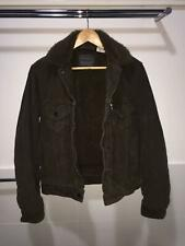 Levi's Dark Brown Corduroy Sherpa Trucker Jacket (XS)