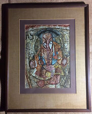 """ORIGINAL Watercolor/Acrylics PAINTING by TED BURNETT """"Zodiac Panel"""" ABSTRACT ART"""