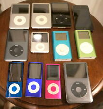 Apple iPod Lot - 12 iPods Tested, All Working