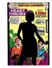 Heart Throbs #113 DC 1968 FN 6.0 Jay Scott Pike cover.