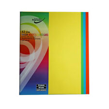 40 Sheets A3 Multi-Coloured Card 160 Gram Paper For Home School Office Craft Art