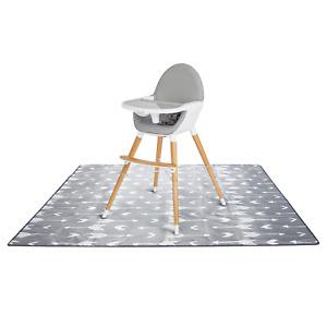 Baby Highchair Mat Waterproof Feeding Mat Splash Mat Floor Covering Pukkr