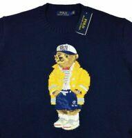 Polo Ralph Lauren CP 93 Sailor Bear Firefighter Sweater Pullover Stadium Hi Tech