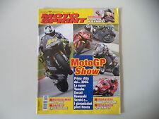 MOTOSPRINT 49/2005 PROVE YAMAHA R1/R1 SBK SUPERBIKE HAGAAPRILIA RXV 4.5