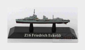 Warship Z16 Friedrich Eckoldt Destroyer Germany 1936 EDICOLA 1:1250 WARSHIP032