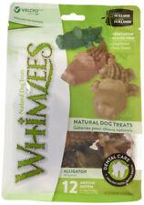 WHIMZEES - Alligator Dental Dog Treats Medium 12 Pieces - 12.7 oz. (360 g)