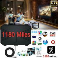Digital TV Antenna 1180 Miles Range Signal Booster Amplifier HDTV Indoor 4K Hot