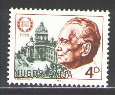 Yugoslavia1983 Sc1630  Mi1988A  1v  mnh  30th anniv. of election of Pres. Tito