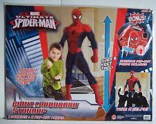 MARVEL ULTIMATE SPIDER-MAN OVER 5' CARDBOARD STANDUP STANDEE W/ BONUS PROPS NEW
