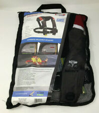 KENT A-33 IN-SIGHT - AUTOMATIC INFLATABLE LIFE VEST RED/BLACK New Free Shipping