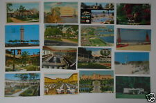 LOT OF 25 FL FLORIDA VINTAGE POSTCARDS ST PETERSBURG COCOA BEACH CAMPING ETC