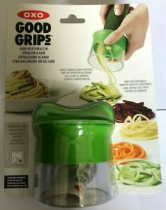 OXO Good Grips Hand Held Spiralizer - Green Price Smash Reduced Free Post