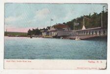 Boat Club North West Arm Halifax Nova Scotia Canada Vintage Postcard US081