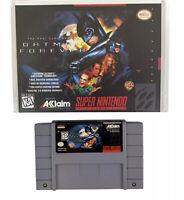 Batman Forever (Super Nintendo Entertainment System, 1995) No Manual- Free Ship