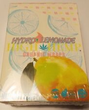 High Hemp Organic Wrap 25 Pouch in Full Box 2 in Pouch 50 Wraps (Hydro Lemonade)